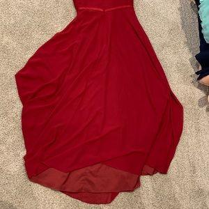 Azazie Dresses - Burgundy Azazie Dress